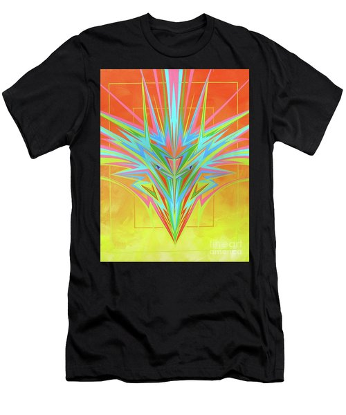Electric Personality  Men's T-Shirt (Athletic Fit)