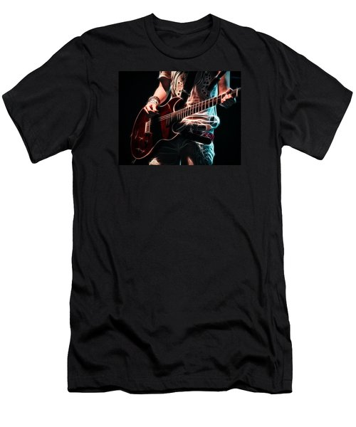Electric Rock Men's T-Shirt (Athletic Fit)