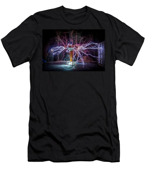 Electric Spider Men's T-Shirt (Athletic Fit)