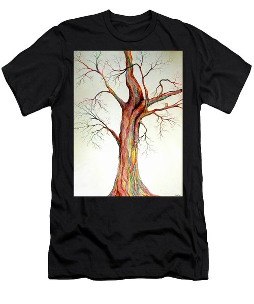 Electric Tree Men's T-Shirt (Athletic Fit)