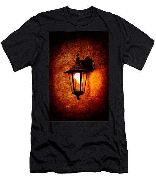 Men's T-Shirt (Slim Fit) featuring the photograph Electrical Light by Alexander Senin