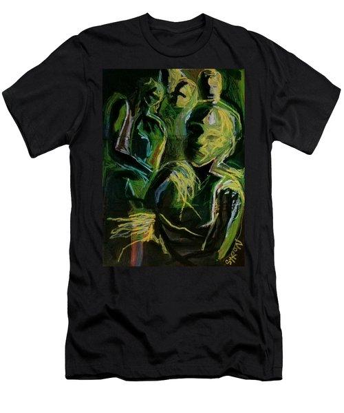 Electricity Men's T-Shirt (Athletic Fit)