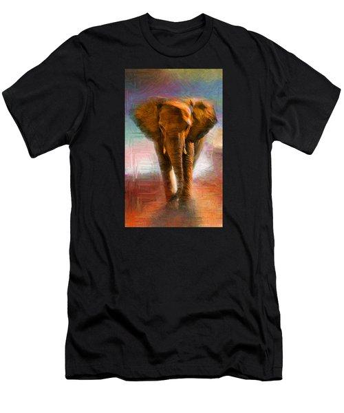 Elephant 1 Men's T-Shirt (Athletic Fit)