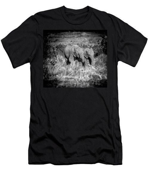 Elefriends Men's T-Shirt (Athletic Fit)