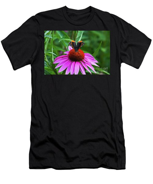 Elegant Butterfly Men's T-Shirt (Athletic Fit)