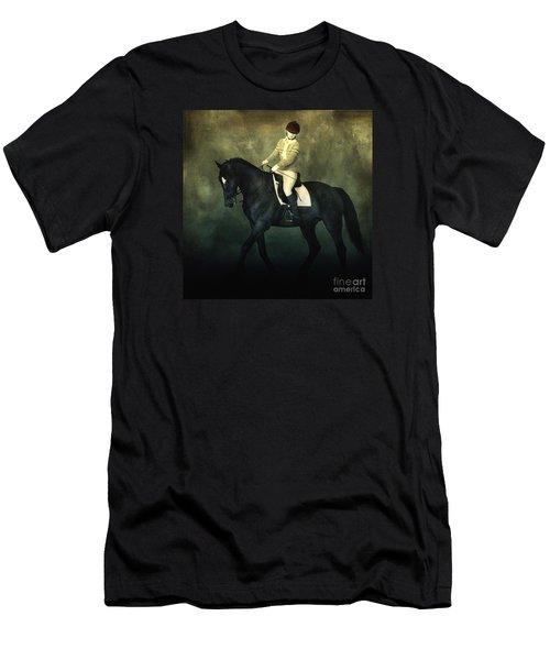 Elegant Horse Rider Men's T-Shirt (Athletic Fit)