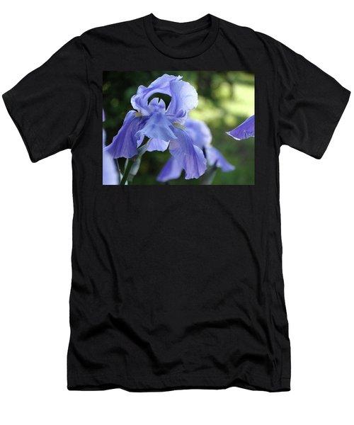 Elegant Iris In Spring Men's T-Shirt (Athletic Fit)