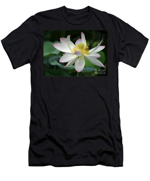 Elegant Lotus Men's T-Shirt (Athletic Fit)