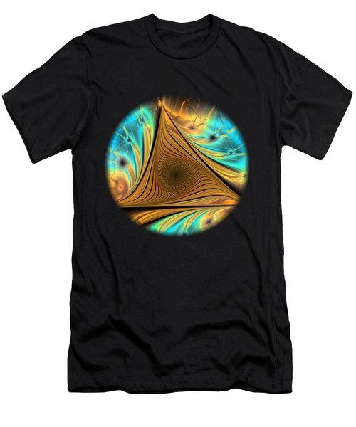 Men's T-Shirt (Athletic Fit) featuring the digital art Element by Anastasiya Malakhova