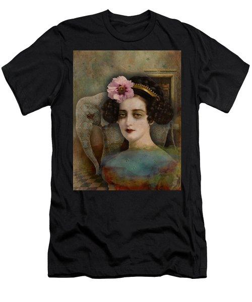 Elephant Dreamer Men's T-Shirt (Athletic Fit)