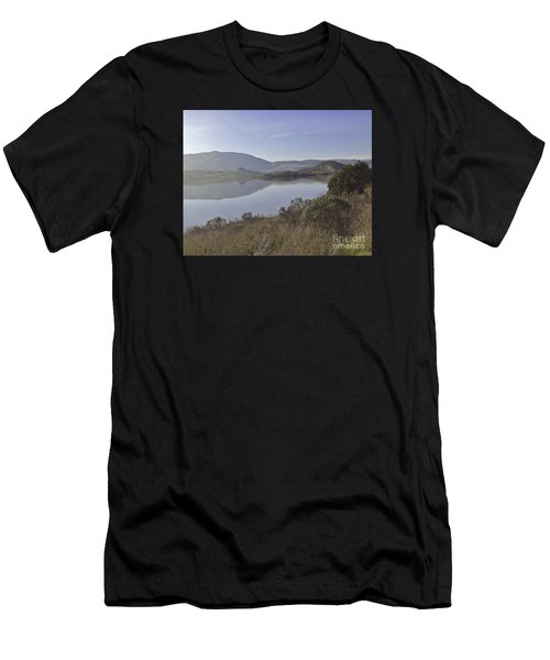 Elephant Hill In Mist Men's T-Shirt (Athletic Fit)