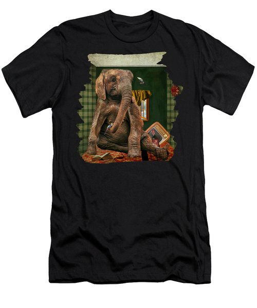Elephant In The Room Men's T-Shirt (Athletic Fit)