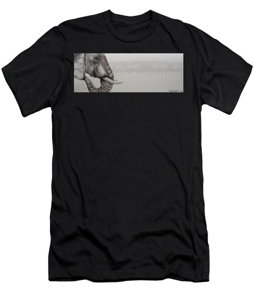 Elephant Tears Men's T-Shirt (Athletic Fit)