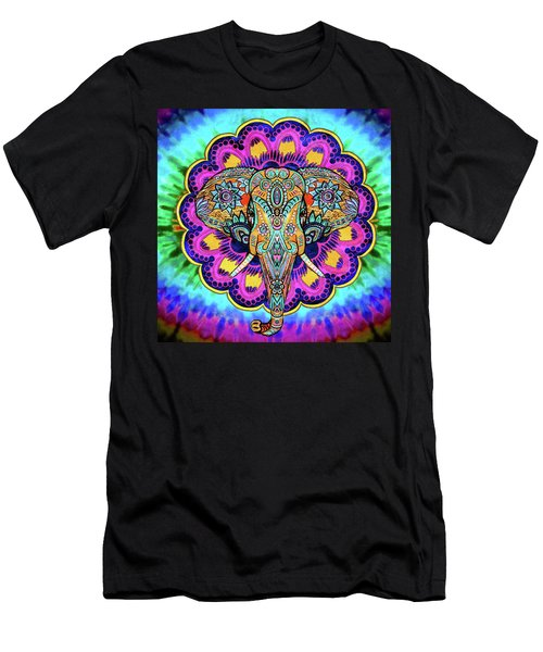 Elephant Wall Hanging Men's T-Shirt (Athletic Fit)