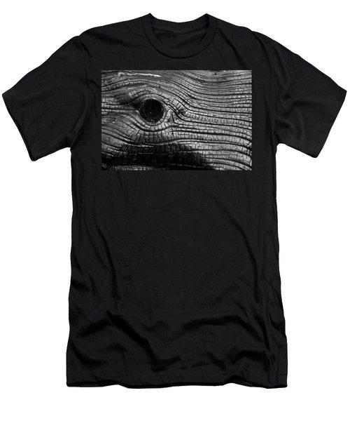 Elephant's Eye Men's T-Shirt (Athletic Fit)