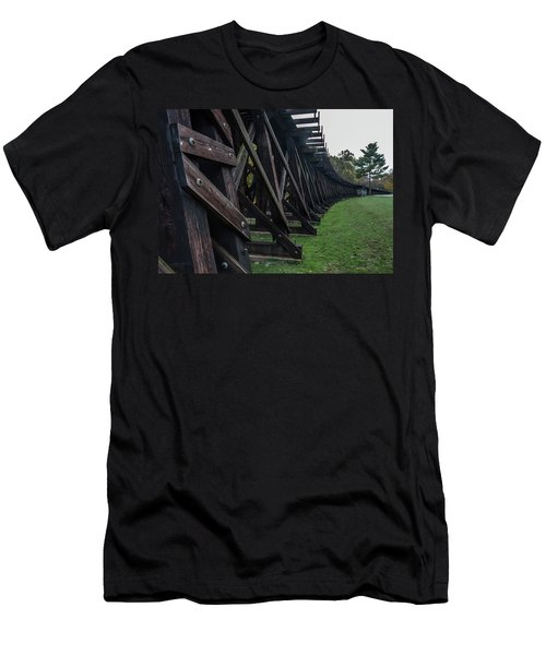 Harpers Ferry Elevated Railroad Men's T-Shirt (Athletic Fit)