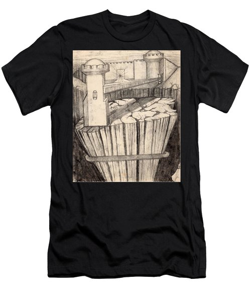 Elevator To Heaven Men's T-Shirt (Athletic Fit)