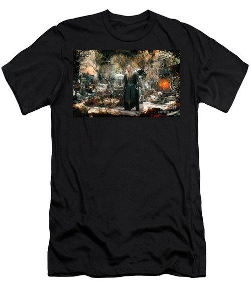 Elf King Thranduil  Men's T-Shirt (Athletic Fit)