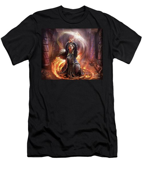 Elf Mage Men's T-Shirt (Athletic Fit)