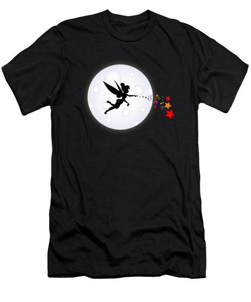 Elf Starry Night Men's T-Shirt (Slim Fit) by Koko Priyanto