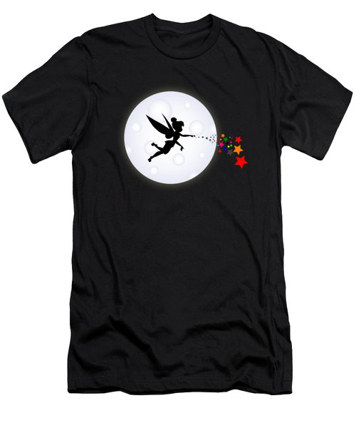 Elf Starry Night Men's T-Shirt (Athletic Fit)