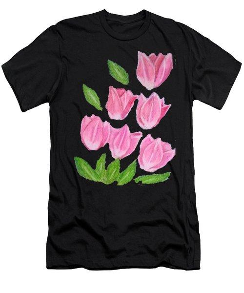 Elite Tulips Men's T-Shirt (Athletic Fit)