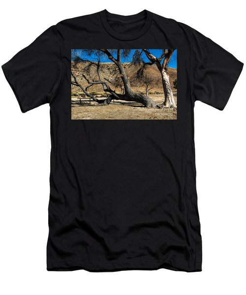 Elizabeth Lake Tree Men's T-Shirt (Athletic Fit)