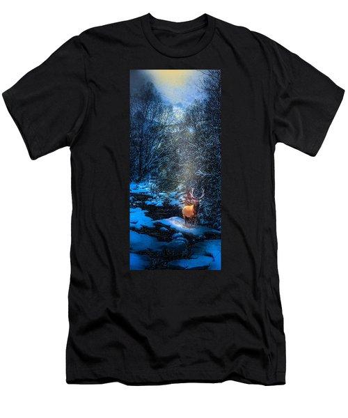 Elk Creek Men's T-Shirt (Slim Fit) by J Griff Griffin