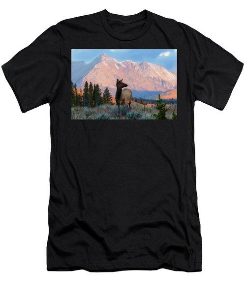 Elk Majesty Men's T-Shirt (Athletic Fit)