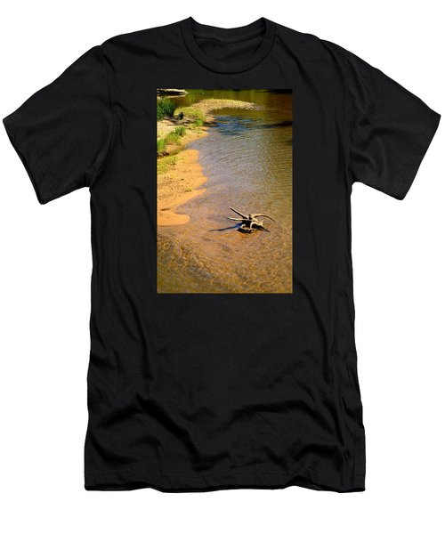 Elk River Driftwood Men's T-Shirt (Athletic Fit)