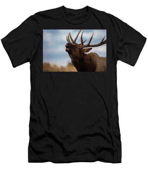 Elk's Screem Men's T-Shirt (Athletic Fit)