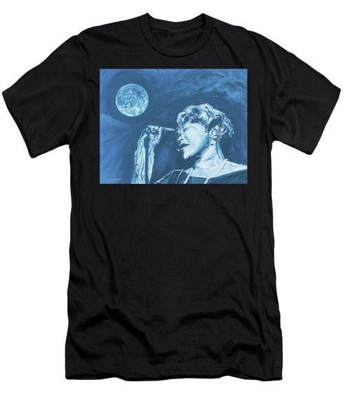 Ella Singing 'blue Moon' Men's T-Shirt (Athletic Fit)