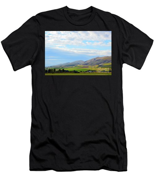 Ellensburg - Manastash Ridge Men's T-Shirt (Athletic Fit)