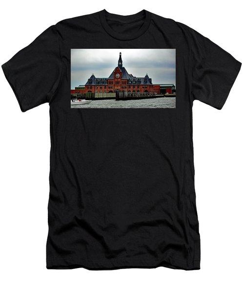 Communipaw Terminal No. 49 Men's T-Shirt (Athletic Fit)