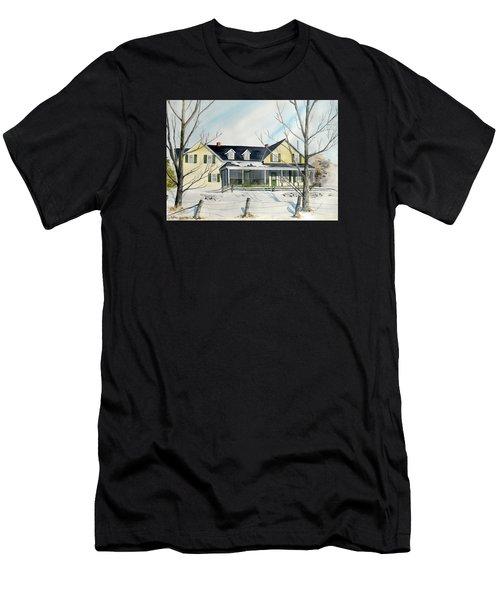 Elmridge Farm House Men's T-Shirt (Athletic Fit)