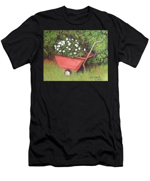 Eloise's Garden Cart Men's T-Shirt (Athletic Fit)