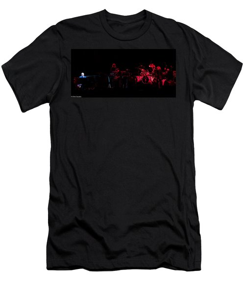Elton John And Band In 2015 Men's T-Shirt (Athletic Fit)