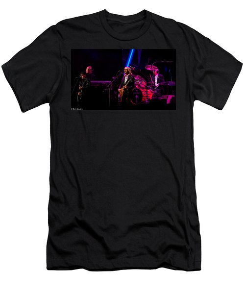 Men's T-Shirt (Athletic Fit) featuring the photograph Elton John by Chris Cousins