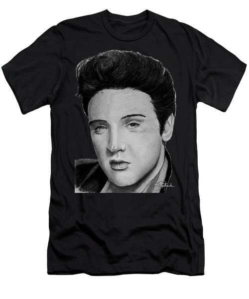 Elvis A Presley Men's T-Shirt (Athletic Fit)