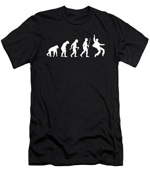 Elvis Evolution Pop Art Men's T-Shirt (Athletic Fit)