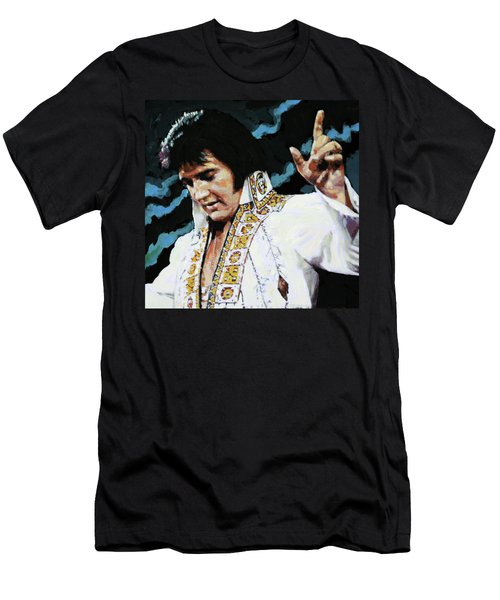 Elvis - How Great Thou Art Men's T-Shirt (Athletic Fit)