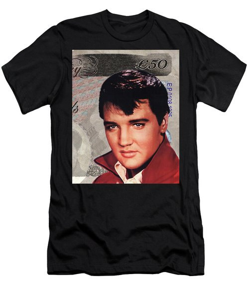 Elvis Presley Men's T-Shirt (Slim Fit) by Unknown