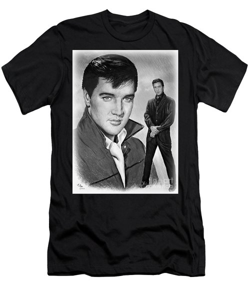Elvis Roustabout Men's T-Shirt (Athletic Fit)
