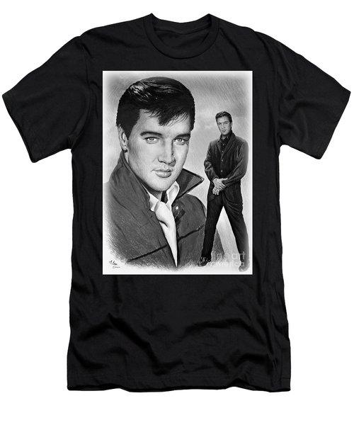 Elvis Roustabout Men's T-Shirt (Athletic Fit)