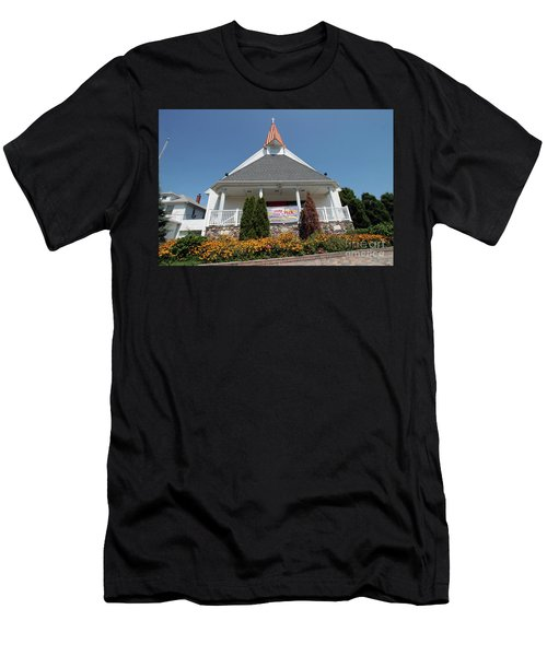 Emanuel Lutheran Church  Patchogue Ny Men's T-Shirt (Athletic Fit)