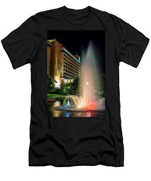 Men's T-Shirt (Athletic Fit) featuring the photograph Embassy Suites Huntsville by David Morefield