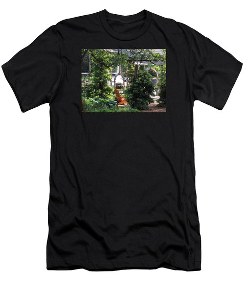 Men's T-Shirt (Slim Fit) featuring the photograph Embrace Spring by Teresa Schomig