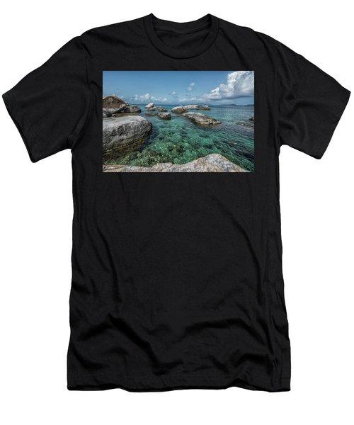 Emerald Bath  Men's T-Shirt (Athletic Fit)