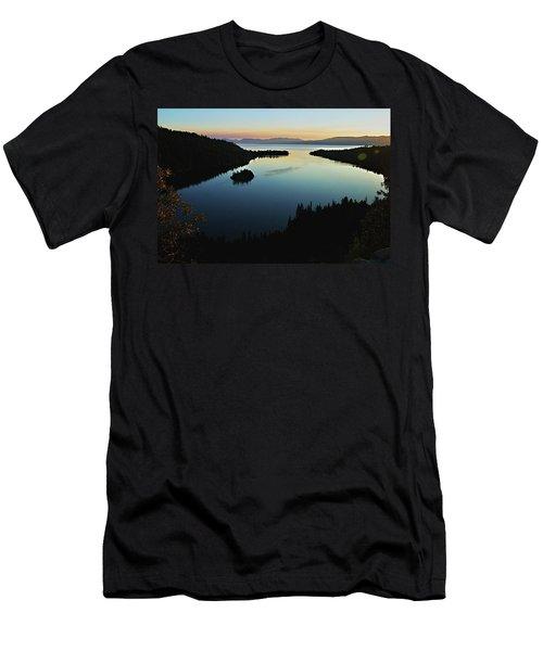 Emerald Bay, Lake Tahoe, Dawn Men's T-Shirt (Athletic Fit)