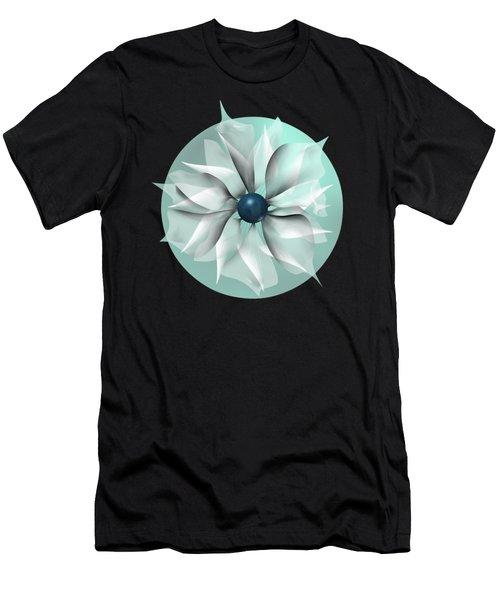 Emerald Flower Men's T-Shirt (Athletic Fit)